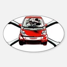 Smart Crossbones Red copy Decal