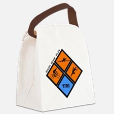 tri Canvas Lunch Bag