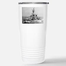 barton sticker Travel Mug