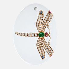 bulgari dragonfly brooch large78 Oval Ornament