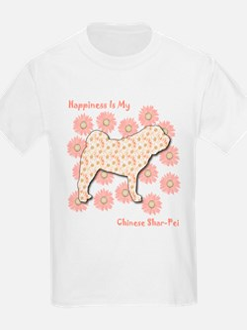 Shar-Pei Happiness Kids T-Shirt