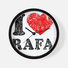 Love Rafa Wall Clock