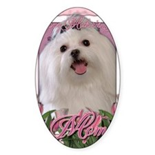 Mothers_Day_Pink_Tulips_Maltese_Mom Decal