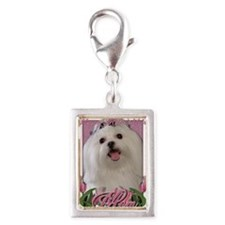 Mothers_Day_Pink_Tulips_Malt Silver Portrait Charm