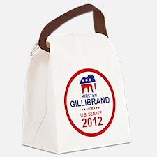 2012_kirsten_gillibrand_main Canvas Lunch Bag