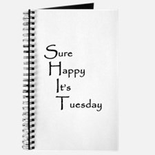 Sure Happy It's Tuesday Journal