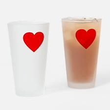 Love Rafa 2 -dk Drinking Glass