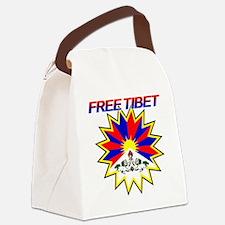 tibet2 Canvas Lunch Bag