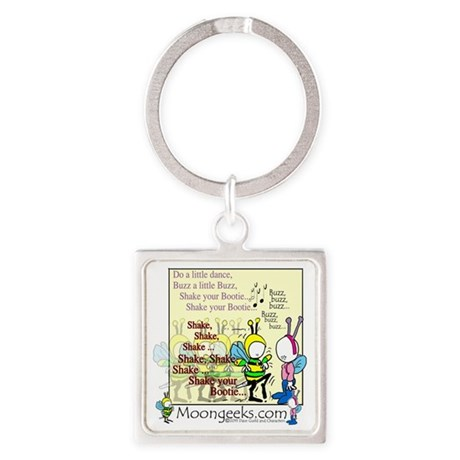 Buzz-[Be the Bee](Dance)-11.009 Square Keychain