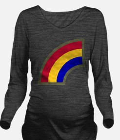 42nd Infantry Divisi Long Sleeve Maternity T-Shirt