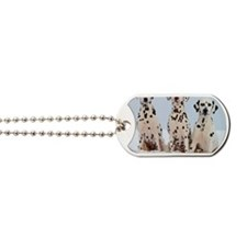 dalmatian for blanket Dog Tags