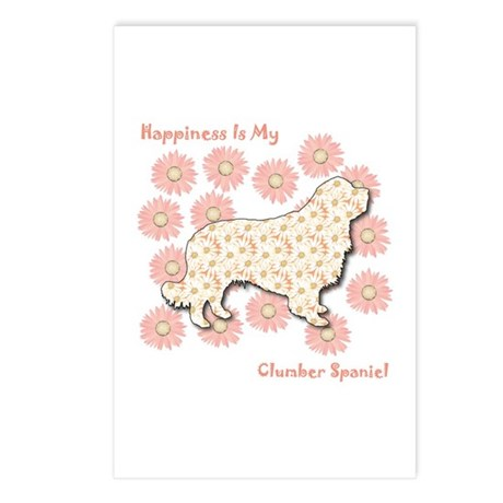 Clumber Happiness Postcards (Package of 8)