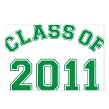 class-of-2011_green Postcards (Package of 8)