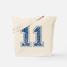 retro-11_blue Tote Bag