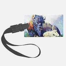 white buffalo legend Luggage Tag