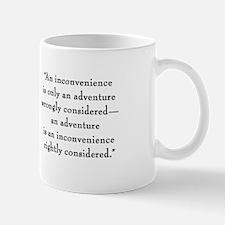"G.K. Chesterton ""Inconvenience"" Mug"