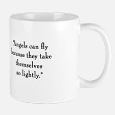 "G.K. Chesterton ""Angels"" Mug"