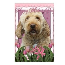Mothers_Day_Pink_Tulips_G Postcards (Package of 8)
