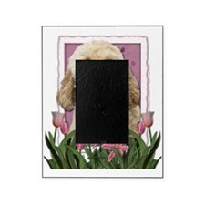 Pink_Tulips_Goldendoodle Picture Frame
