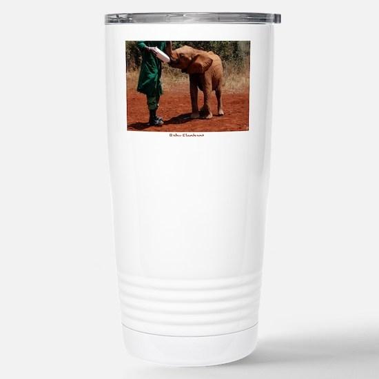 Baby Elephant Stainless Steel Travel Mug