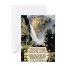 1 A COVER -AMERICA THE BEAUTIFUL 2 Greeting Card
