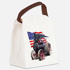 AdvanceSteam-10Flag Canvas Lunch Bag