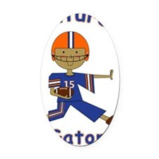 brody-football-gator2.gif Oval Car Magnet