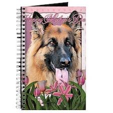 Mothers_Day_Pink_Tulips_German_Shepherd_Ch Journal