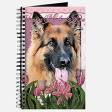 Mothers_Day_Pink_Tulips_German_Shepherd_Ch Journal