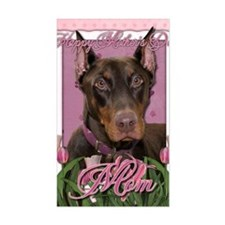 Mothers_Day_Pink_Tulips_Doberm Decal