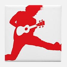 iUke Red Tile Coaster