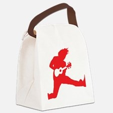 iUke Red Canvas Lunch Bag