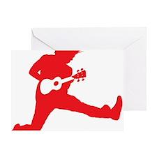 iUke Red Greeting Card