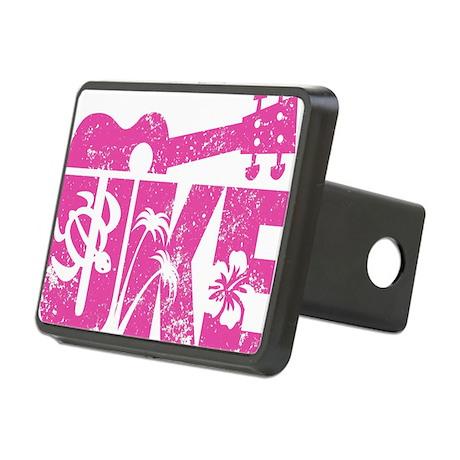 UKE Pink Rectangular Hitch Cover
