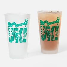 UKE Green Drinking Glass