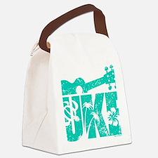 UKE Green Canvas Lunch Bag