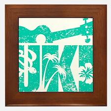 UKE Green Framed Tile