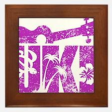 UKE Purple Framed Tile