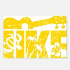 UKE Yellow Postcards (Package of 8)