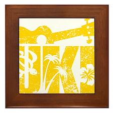 UKE Yellow Framed Tile