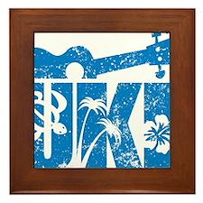 UKE Blue Framed Tile
