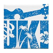 UKE Blue Tile Coaster