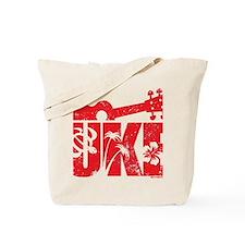 UKE Red Tote Bag