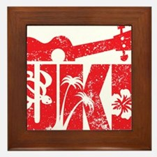 UKE Red Framed Tile
