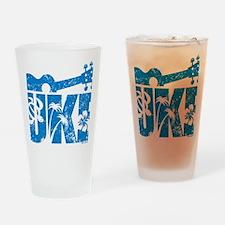 UKE Blue Drinking Glass