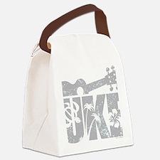 UKE Gray Canvas Lunch Bag