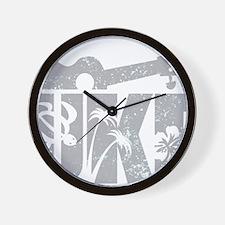 UKE Gray Wall Clock