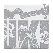 UKE Gray Tile Coaster