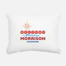 MORRISON DARK Rectangular Canvas Pillow