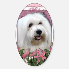 Mothers_Day_Pink_Tulips_Coton_de_Tu Decal